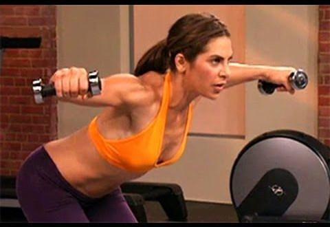 jillian michaels arms shoulders workout is a short but